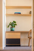 Built In Office Nook