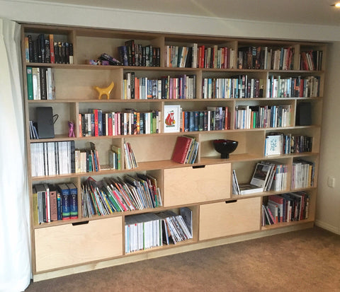 Plywood Bookshelf - Nelson