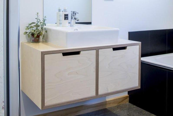 2 Door Birch Plywood Vanity