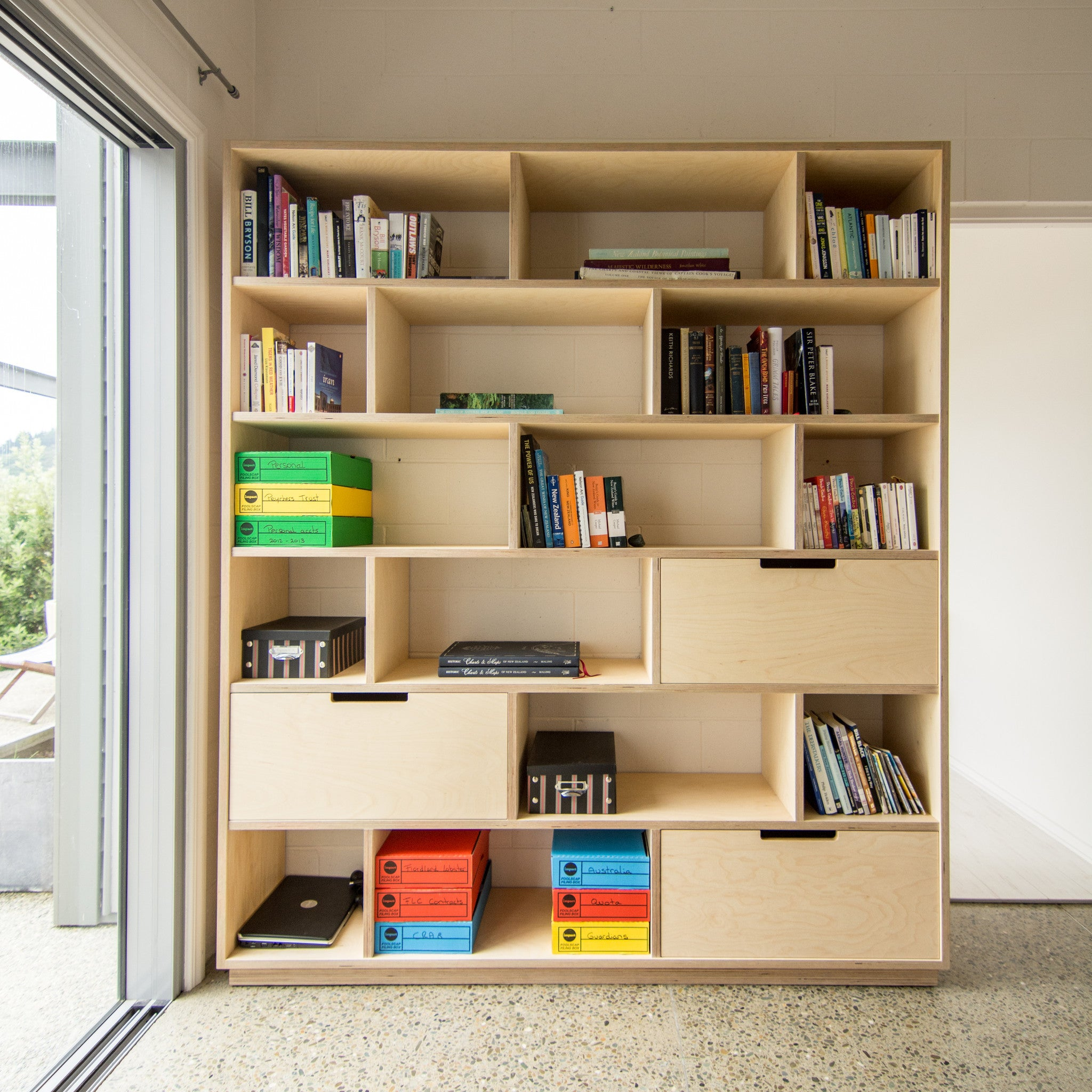 Make Furniture Combination Of Bookshelf And Office