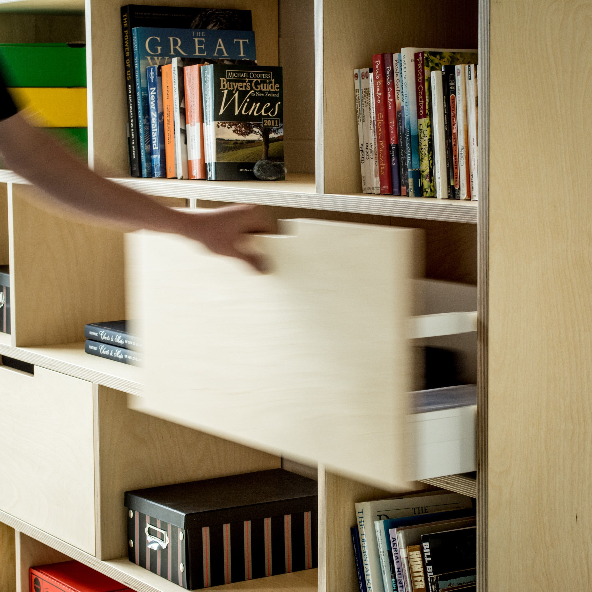 home office bookshelf. Plywood Bookshelf, Storage And Home Office Combined Together. Bookshelf C