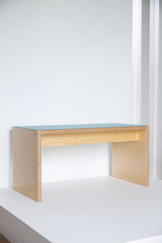 Birch Plywood Bench seat - Aqua