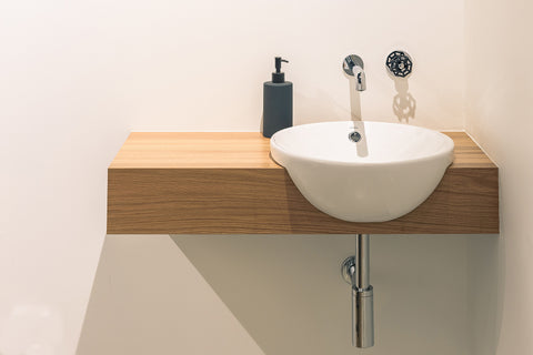Solid Oak Vanity