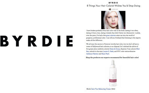 BYRDIE BLNDN PRESS