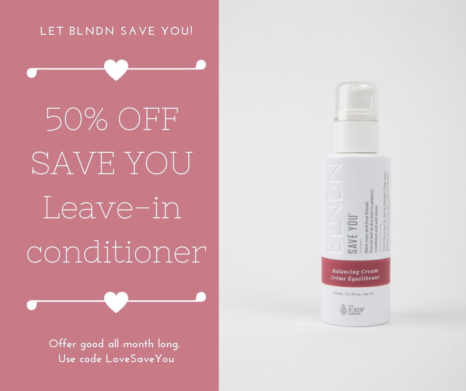 BLNDN Save You Leave-In Conditioner
