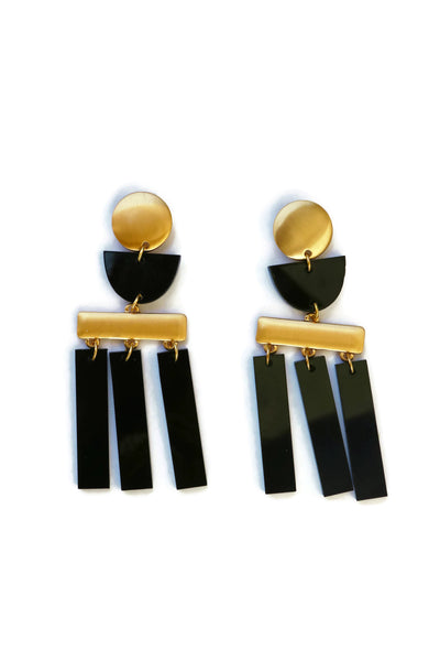 Ramona Acrylic Geometric Earrings