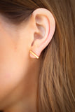 Bar Post Earrings || Darleen Meier Jewelry