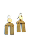 Double Bar Geometric Modern earrings
