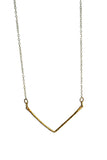 Chevron Necklace Gold | Darleen Meier Jewelry
