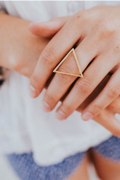 Geometric Triangle Ring