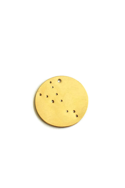 Zodiac Constellation Disc