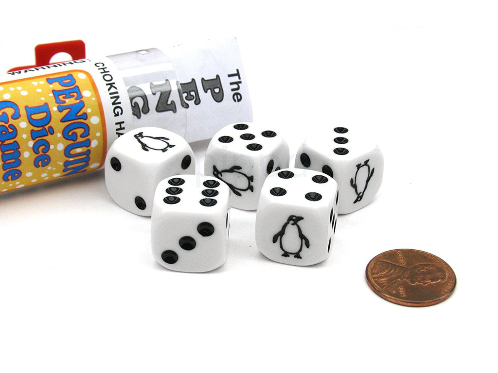 Penguin Dice Game