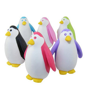 Puzzle Penguin Eraser - Many Colors