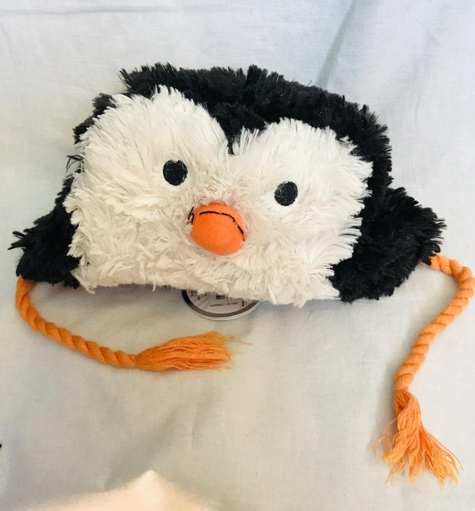 Fuzzy Kids Penguin Hat (Kids Size)