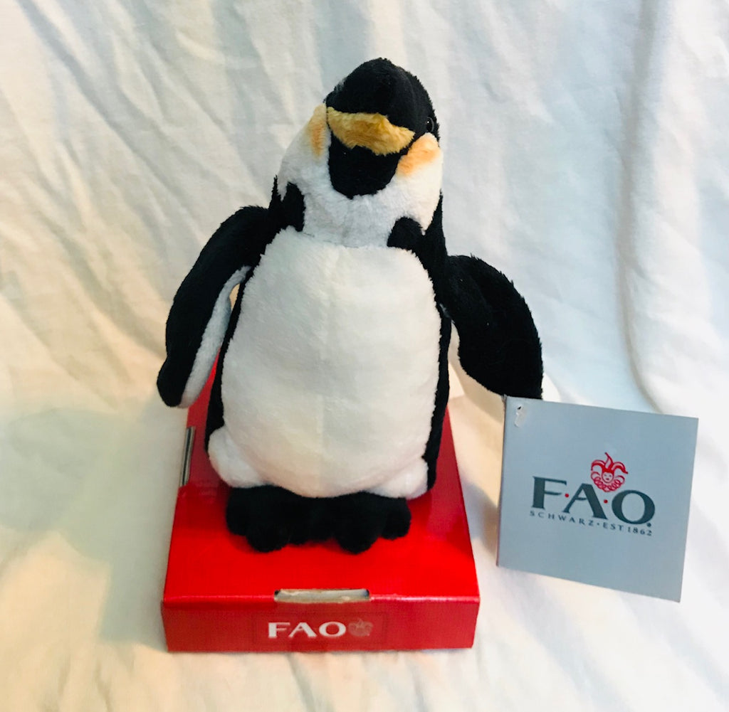 "FAO Schwarz Plush on Pedestal (4"" Tall)"