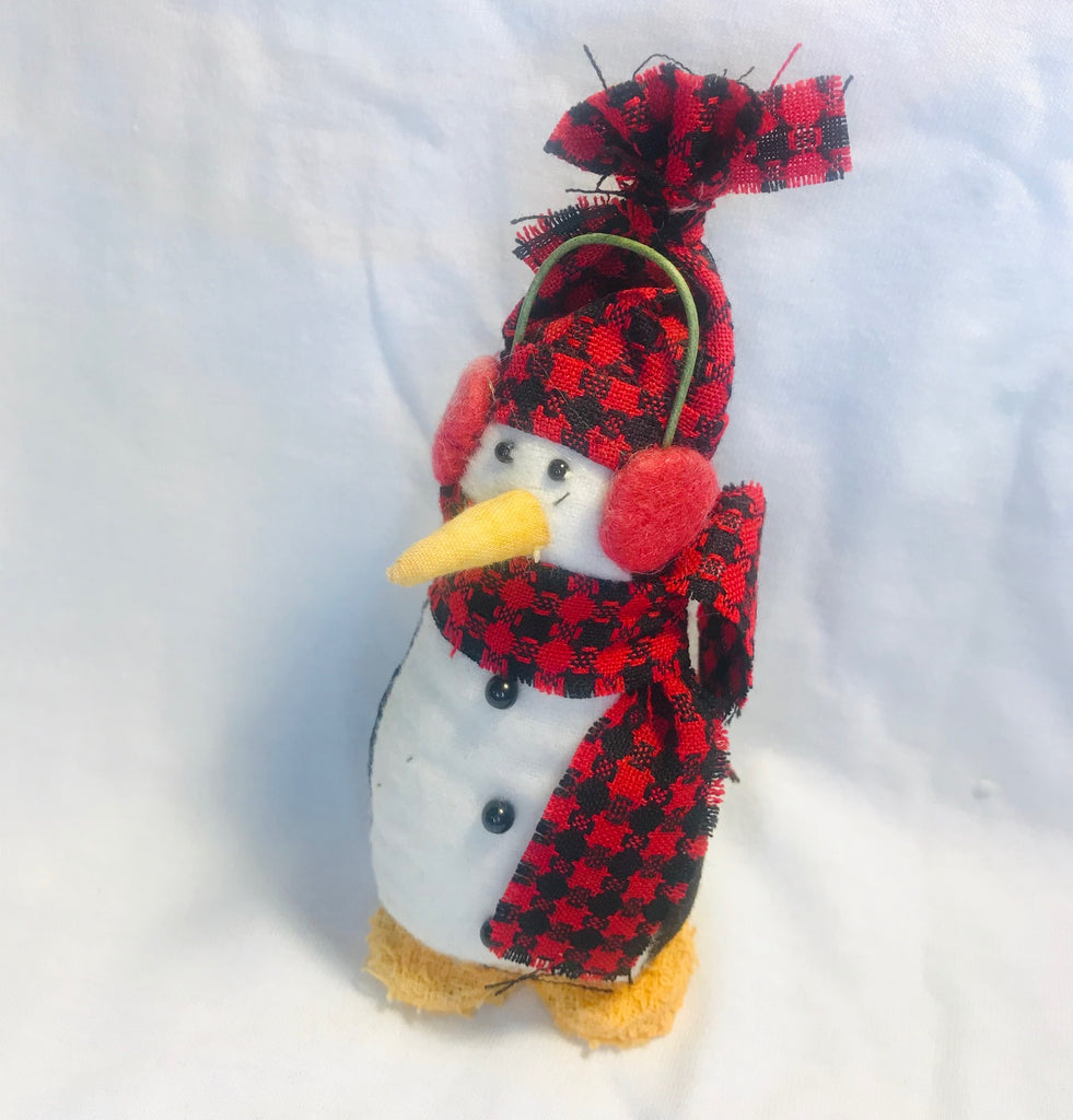 "Mini Craft Winter Penguin Plush (4"" Tall)"