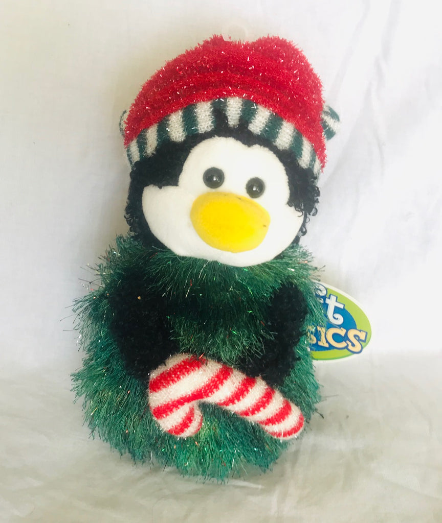 "Penguin Plush Holiday Tree (9"" Tall)"