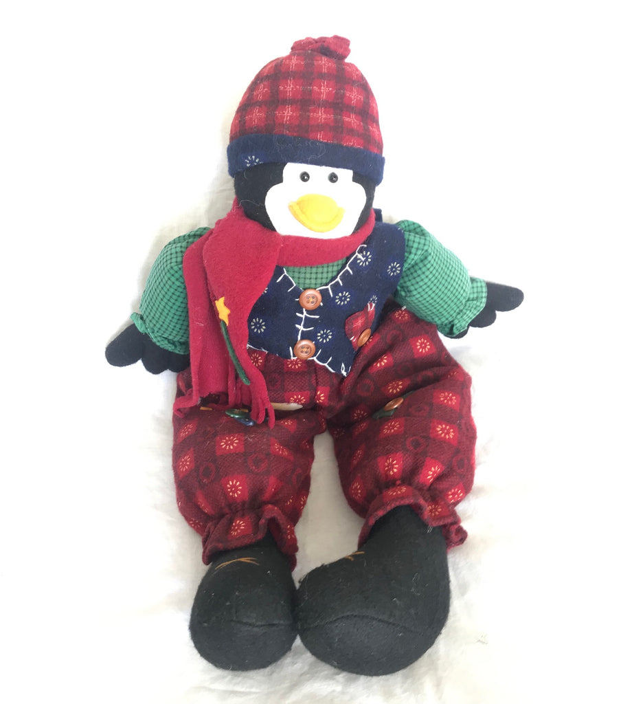 "Pepito Holiday Penguin Plush ( 16"" Tall)"