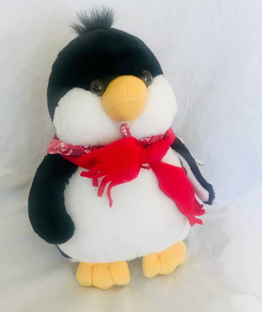 "Perky Penguin Plush (14"" Tall)"