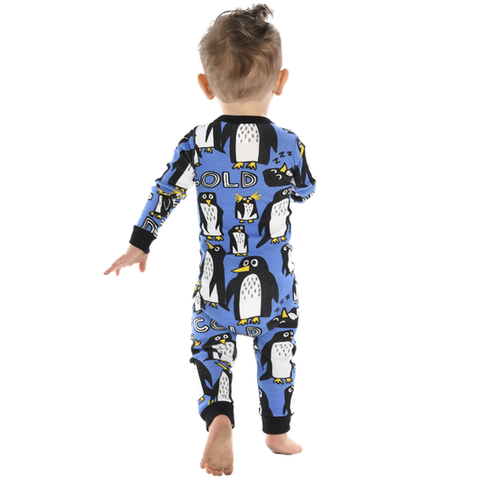 Penguin - Out Cold Baby Union Suit (6 & 12 months)
