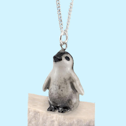 Emperor Penguin Baby Chick Pendant Jewelry Cute