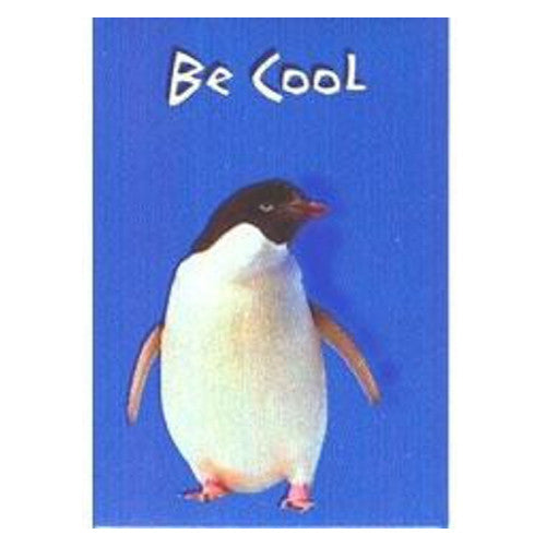 "Be Cool Penguin Magnet (2"" x 3"")"