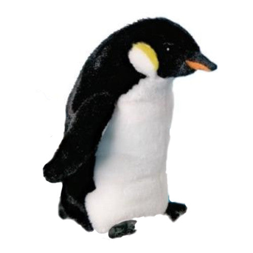 Penguin Plush, Emperor, Stuffed Animal, Douglas, Toy, Bibs