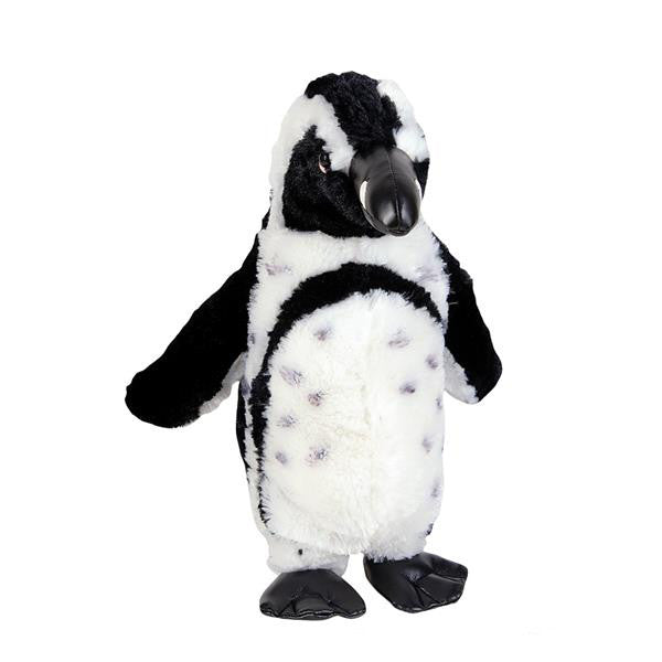 "Life Size African Penguin Plush (18"" Tall)"