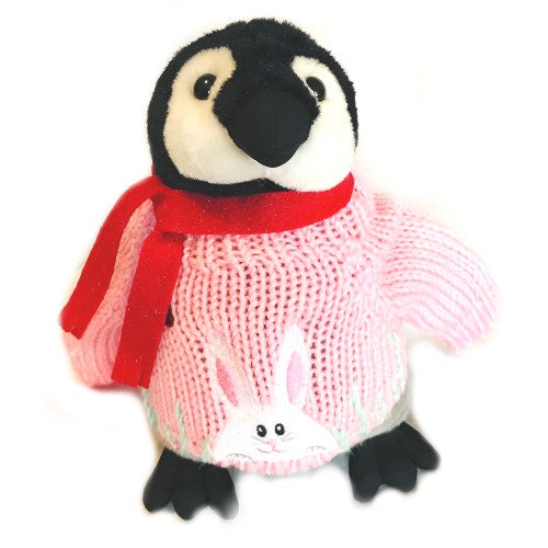 "Easter Bunny Baby Penguin Plush (10"" tall)"
