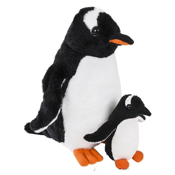 Gentoo and chick Penguin Plush and stuffed animal