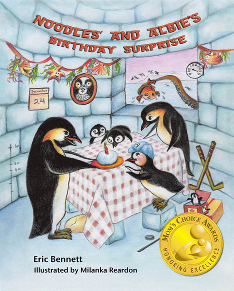 Noodles Albie Penguin Picture Book Birthday Christmas Children's Story Gift Antarctica Santa