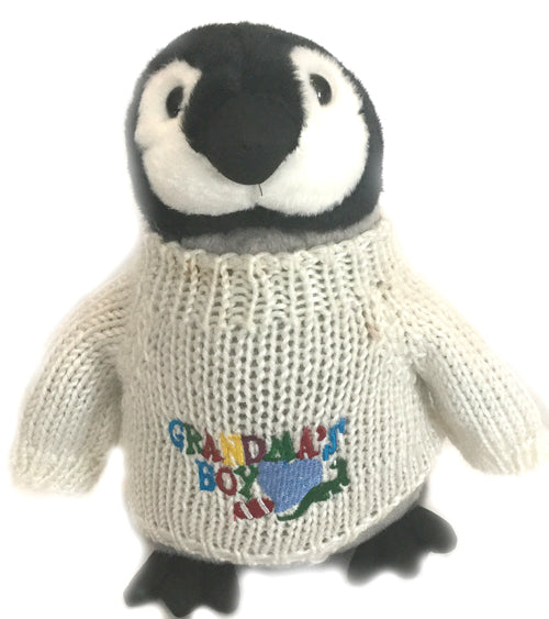 "Grandma's Boy Penguin Plush (10"" Tall)"