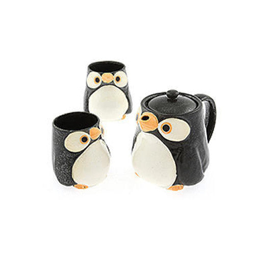 Kotobuki Japanese Penguin Tea Set