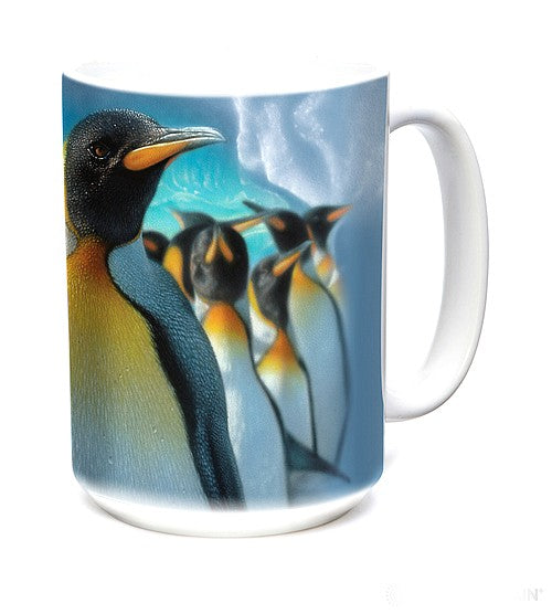 Emperor Penguins Mug (large 15 ounce size)