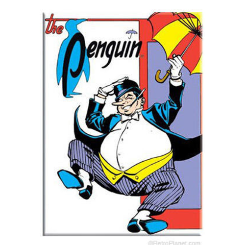 "The Original Penguin From Batman Magnet (3"" x 2"")"