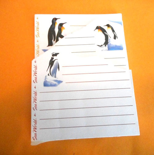 "Seaworld Penguin Notepad (6"" x 4"")"
