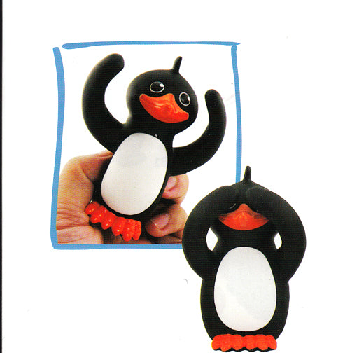 Penguin Toy Squeezy Gift Stress Reliever Gift Stocking Stuffer