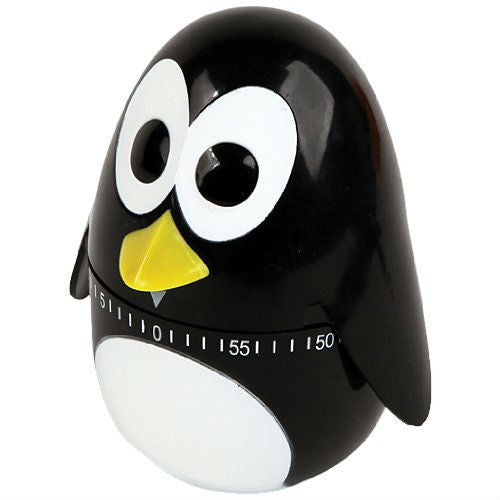 "Penguin Egg Shaped Timer (4"" Tall)"