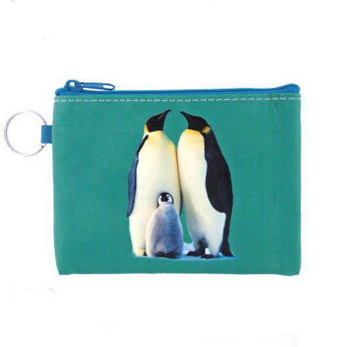 "Penguin Family Vegan Wallet (5"" x 3 1/2"")"