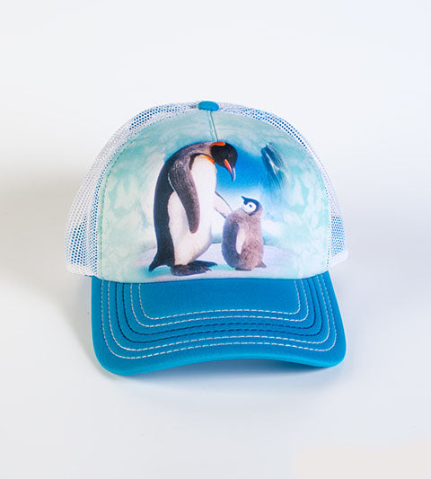 Penguin Trucker Hat (adjustable)