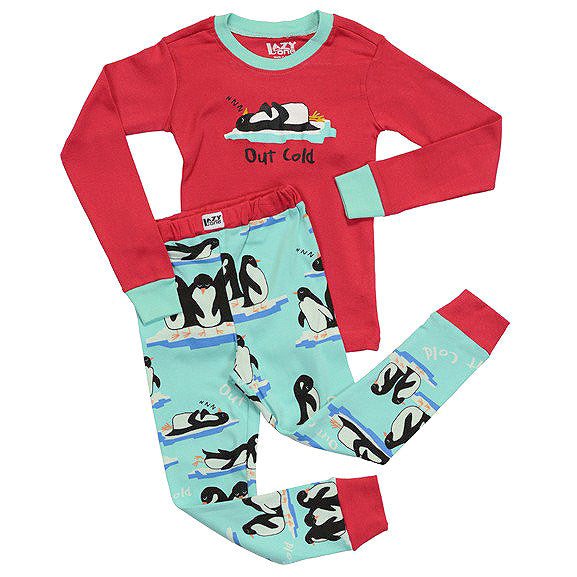 Kids Children's Two Piece Pajamas PJ's Gift