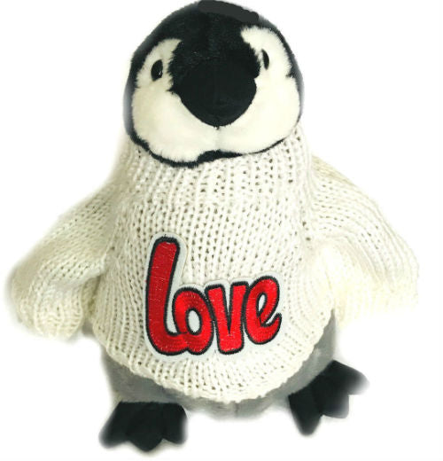 "Love Penguin Romantic Valentine Plush (10"" Tall)"