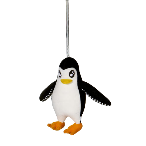 "Penguin On A Spring  (5"" Tall)"