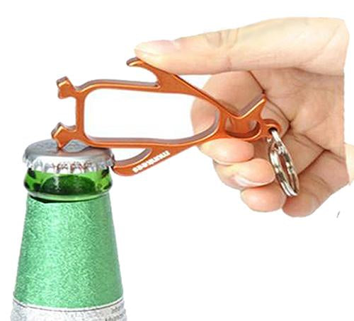 Penguin Key Chain Bottle Opener (Assorted Colors)