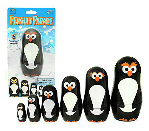 Penguin Nesting Dolls Gift Toy