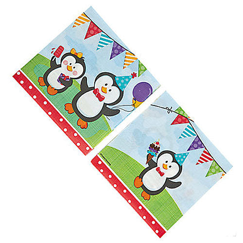 Party Penguin Luncheon Napkins (18 per pack)