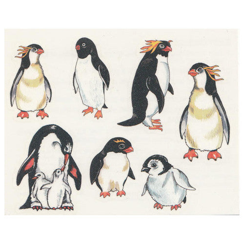 Penguin Temporary Tattoos