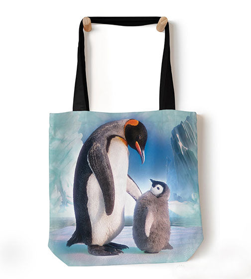 "Next Emperor Penguin Tote Bag (18"" x 18"")"