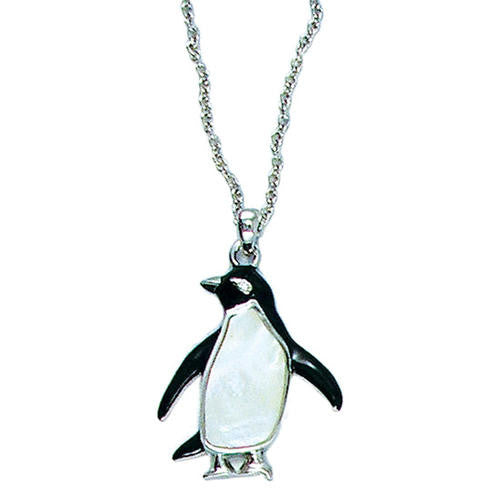 "Adleie Penguin Pendant (with 16"" - 20""  chain)"