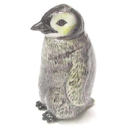 Porcelain Penguin Chick Baby Figurine